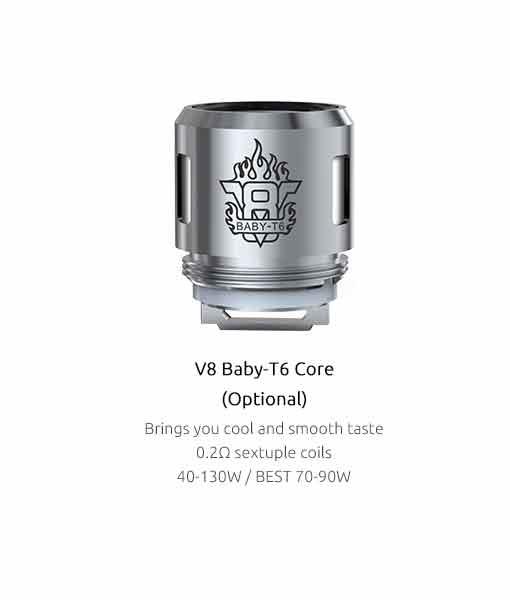 Authentic Smok V8 Baby M2 0.20 core