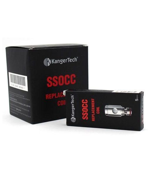 Kanger Vertical SSOCC 5-Pack Coils (OCC Replacement)