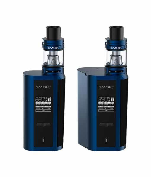 SMOK GX2/4 + TFV8 Big Baby Tank Starter Kit in Blue Black.