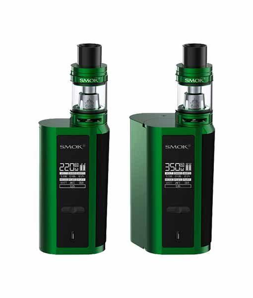 SMOK GX2/4 + TFV8 Big Baby Tank Starter Kit in Green Black.