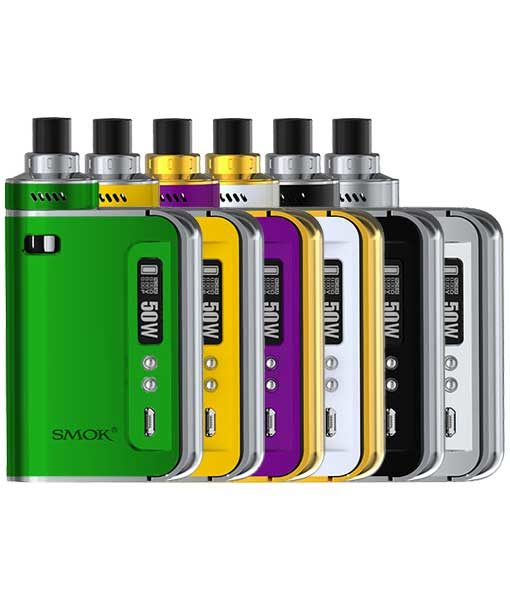 SMOK OSUB One 50W Kit built in Sub Ohm Tank in Green Yellow Purple White Black Silver