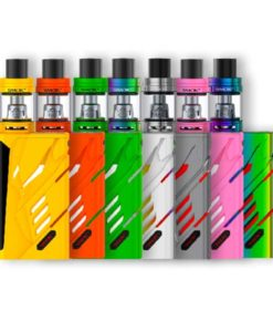 Pioneer4You iPV Eclipse SXmini Mods - SMOK T- Priv + TFV8 Big Baby Tank Kit in Auto Yellow Auto Orange Auto Green Auto Pink