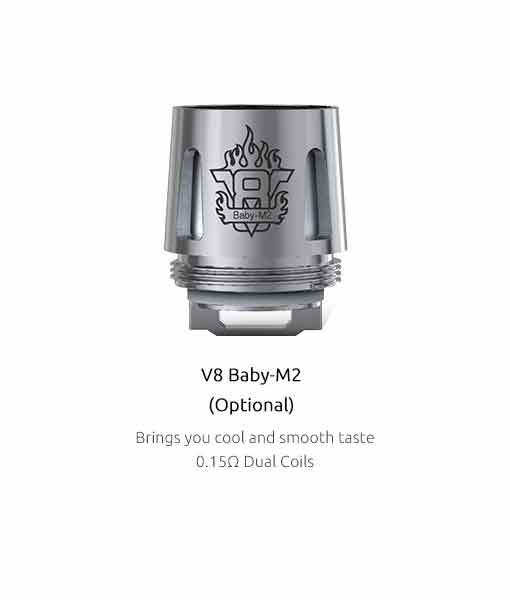 SMOK TFV8 Baby Coils (5-Pack) - Authentic Smok V8 Baby M2 0.15Ω 5-pack