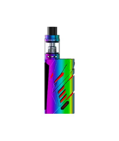 SMOK T- Priv + TFV8 Big Baby Tank Kit KMG Import TFV8 Big Baby Tank Kit 220W 9-Color Custom LED OLED SCREEN two 18650 batteries Rainbow 7-color