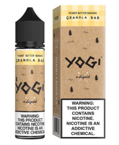 Yogi Peanut Butter Banana Granola Bar 60ml E-Liquid