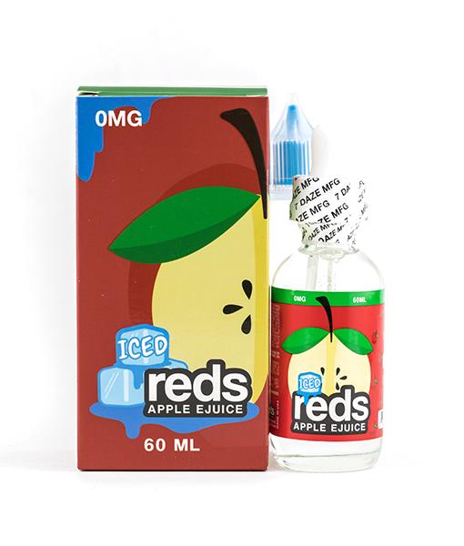 7Daze Reds Apple Iced 60ml E-liquid