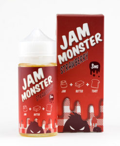 Jam Monster Strawberry - 100ml