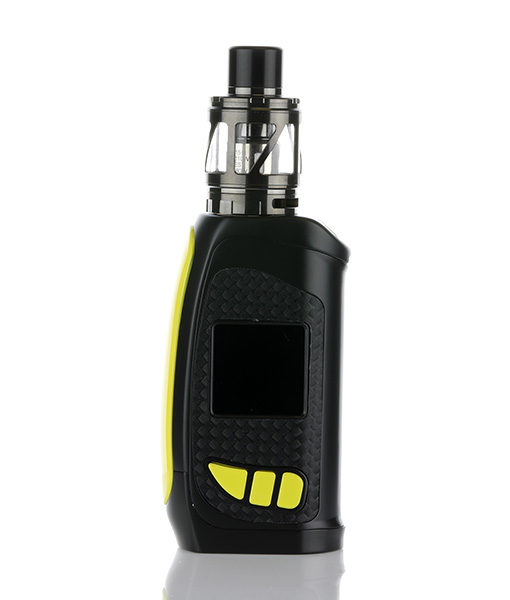 Pioneer4you iPV Eclipse Mod with LXV4 (Gun Metal Finish) Tank with Yellow Mod