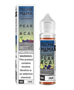 Pachamama Huckleberry Pear Acai 60ml E-liquid