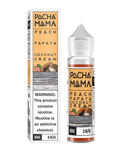 Pachamama Peach Papaya Coconut Cream 60ml E-liquid