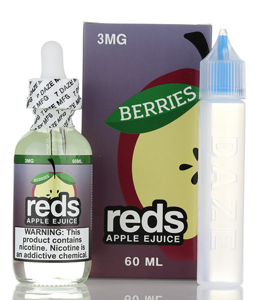 7Daze Reds Apple Berries 60ml E-liquid