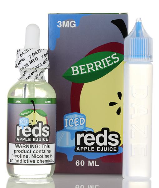 7Daze Reds Apple Berries ICED 60ml E-liquid