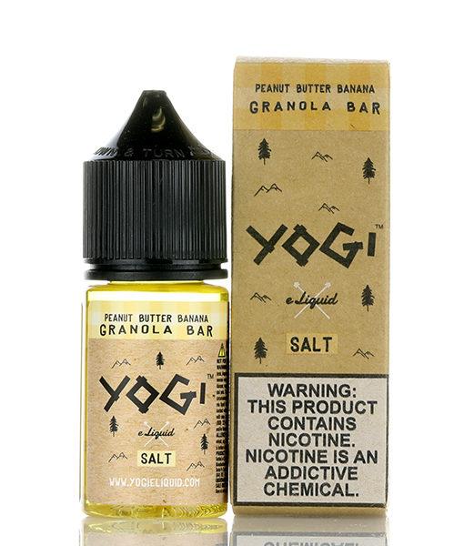 Yogi Peanut Butter Banana Granola Bar 30ml Nic Salt E-liquid