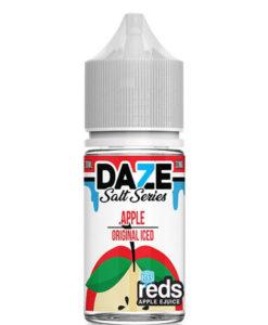 7 Daze Salt Series Reds Apple Iced