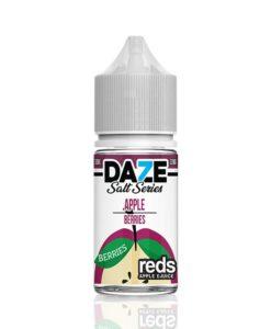 7 Daze Salt Series Reds Apple Berries
