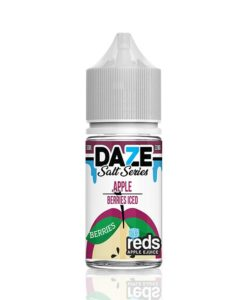 7 Daze Salt Series Reds Apple Berries Iced
