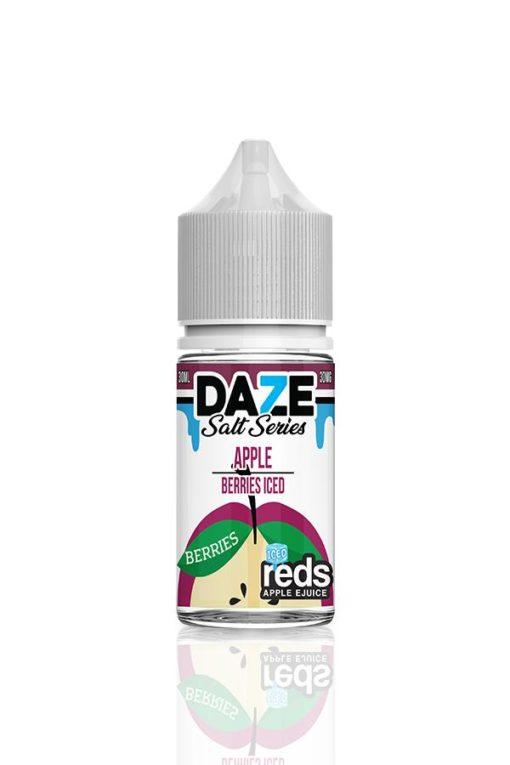 7 Daze Salt Series Reds Apple Berries Iced
