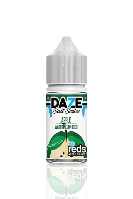 7 Daze Salt Series Reds Apple Watermelon Iced