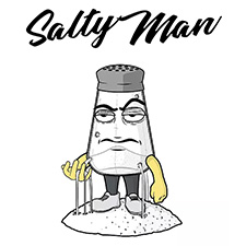 salty man logo