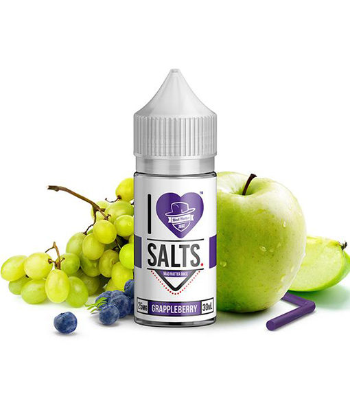 Mad Hatter I Love Salts Grappleberry 30ml
