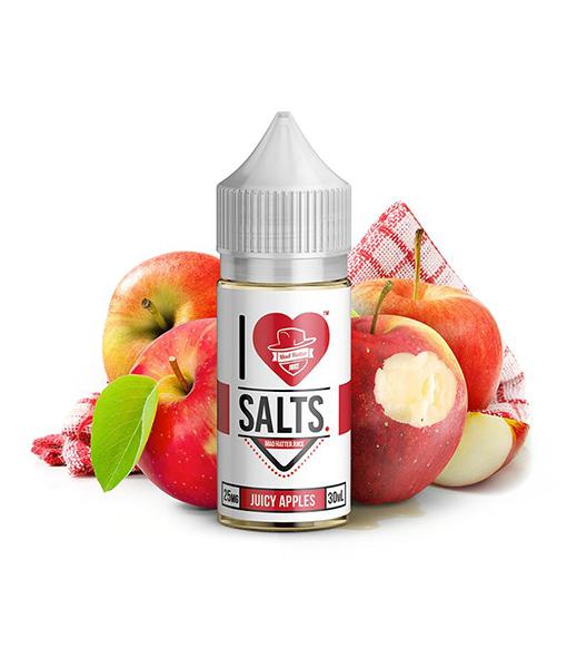 Mad Hatter I Love Salts Juicy Apples 30ml