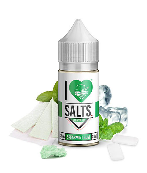 Mad Hatter I Love Salts Spearmint Gum 30ml