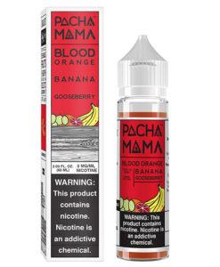 Pachamama Blood Orange Banana Gooseberry 60ml
