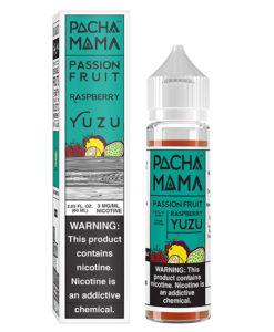 Pachamama Passion Fruit Raspberry Yuzu 60ml