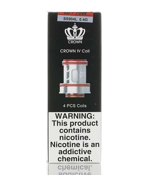 Uwell Crown 4 Coils 4-Pack