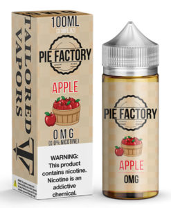 Tailored Vapors Pie Factory Apple 100ml