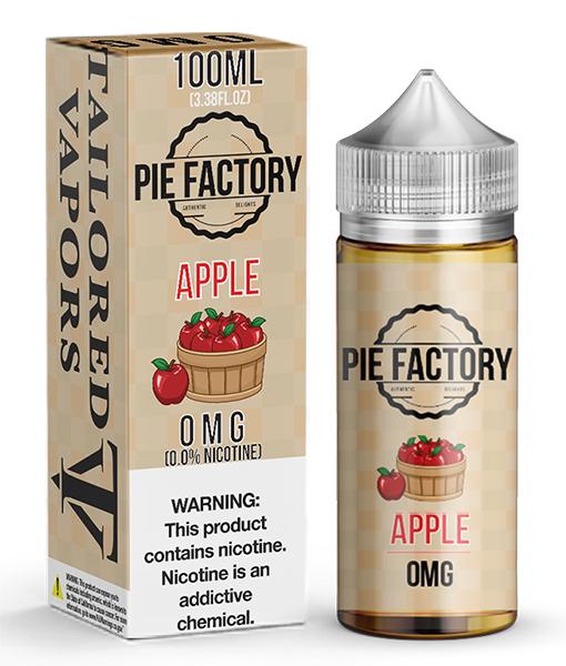 Tailored Vapors Pie Factory Apple 100ml