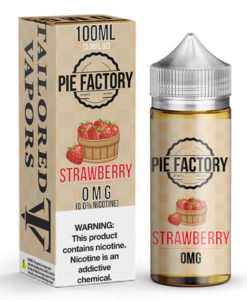 Tailored Vapors Pie Factory Strawberry 100ml