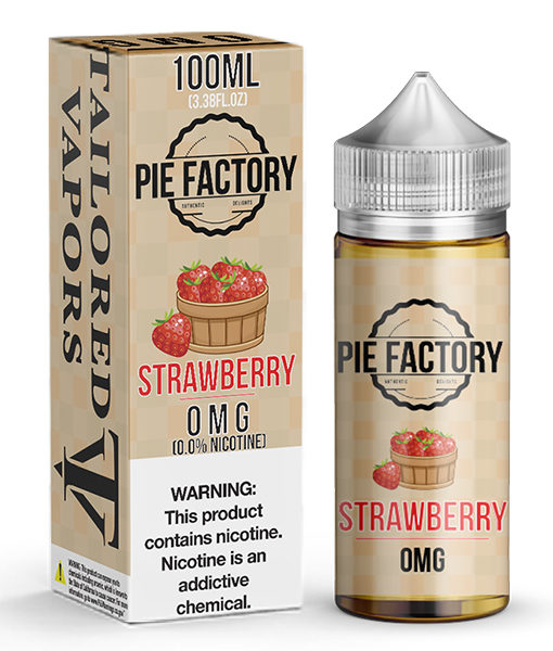 Tailored Vapors Pie Factory Strawberry 100ml