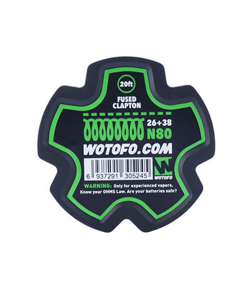 Wotofo Fused Clapton Wire Roll - 20 Feet