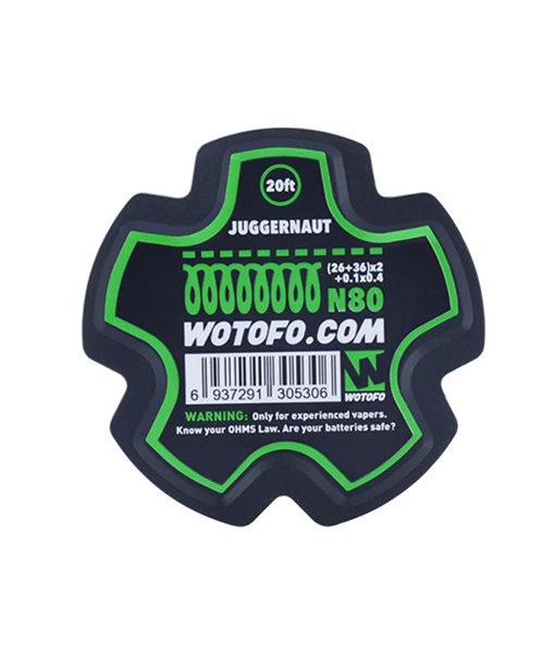Wotofo Juggernaut Wire Roll - 20 Feet