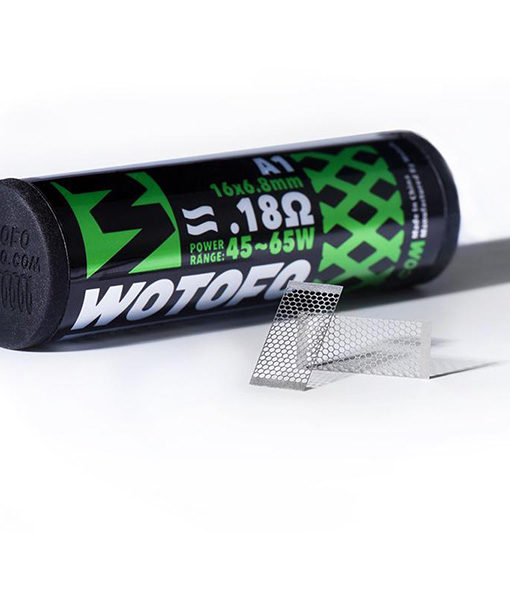 Wotofo Mesh Strip Style Pre-Built Coils - 10 Pieces