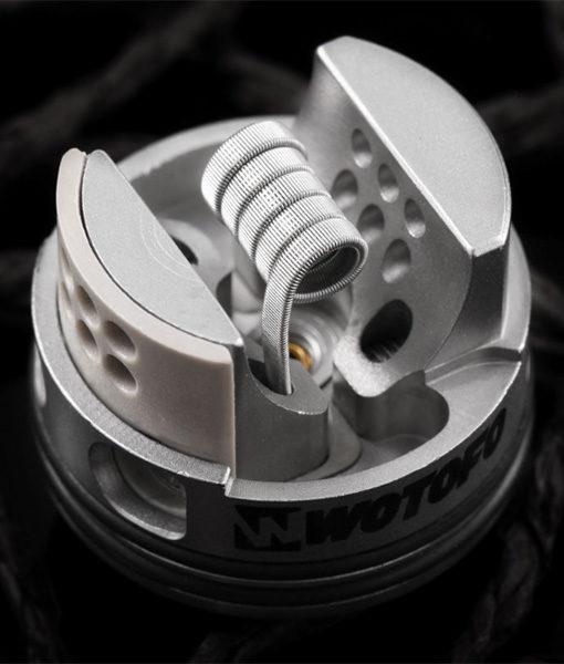 Wotofo Quad Core Fused Clapton Pre-Built Coils - 10 Pieces 0.26 ohm
