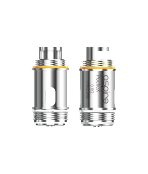 Aspire PockeX Coils 5-Pack 0.6 ohm
