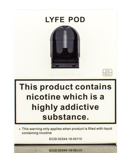 Augvape Tuglyfe Replacement Pods 4-Pack