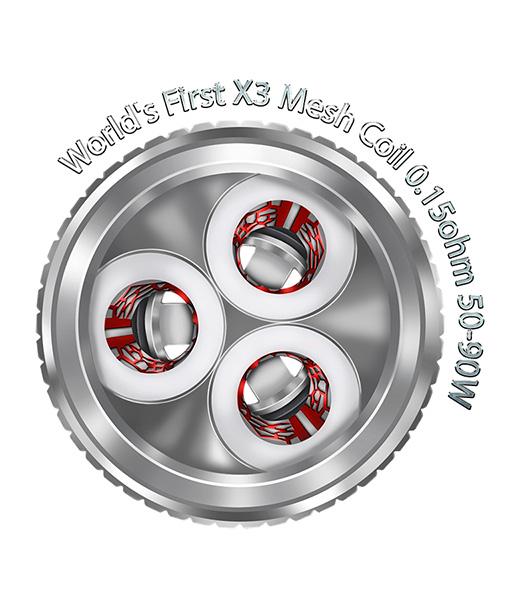 Freemax Twister Coils 5-Pack X3 Mesh