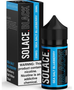 Solace Black Sea Salt Blueberry 30ml