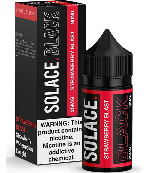Solace Black Strawberry Blast 30ml