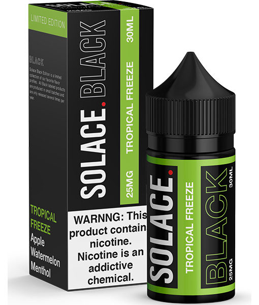Solace Black Tropical Freeze 30ml