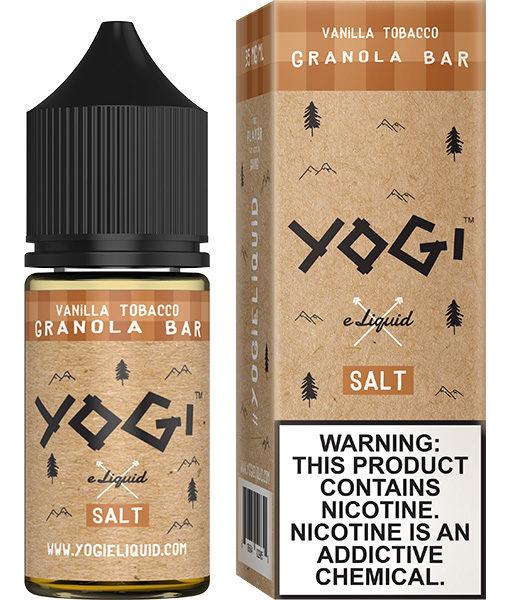 Yogi Salt Vanilla Tobacco Granola Bar 30ml