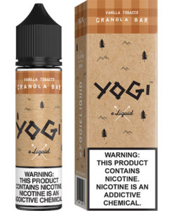 Yogi Vanilla Tobacco Granola Bar 60ml