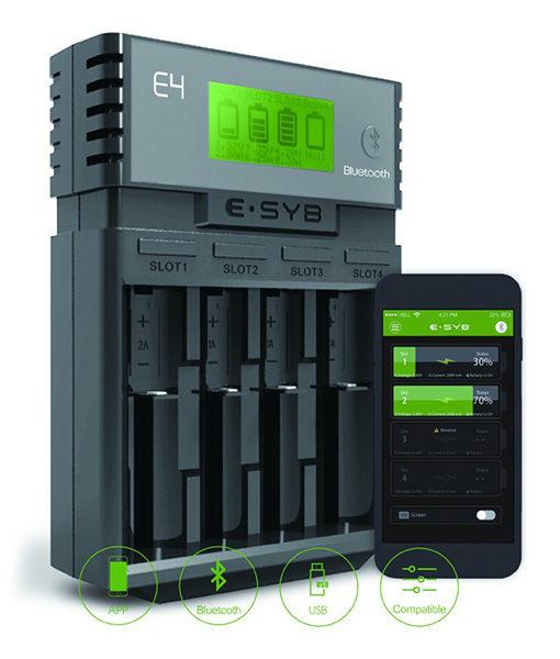 ESYB E4 Battery Charger