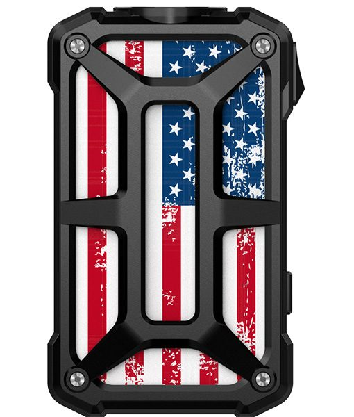 Rincoe Mechman Mod Steel Bone American Flag Black