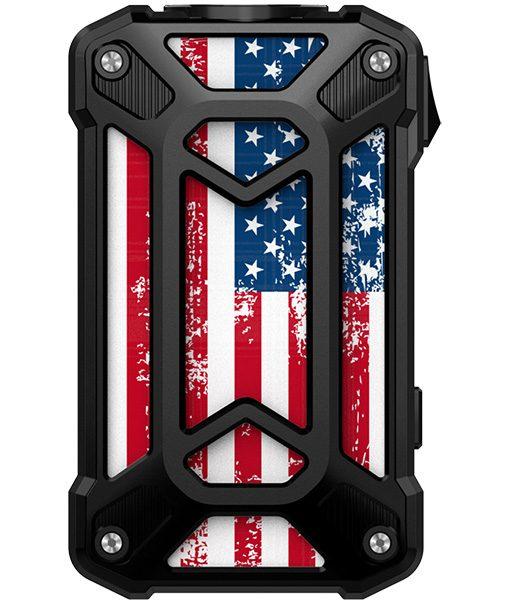Rincoe Mechman Mod Steel Case American Flag Black