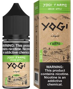 Yogi Farms Salt Green Apple 30ml