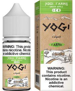 Yogi Farms Salt Ice Green Apple 30ml